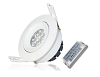 LEDware | LED Spotlight | 1 LED  | 490 Lm | Kit | Warm White | 2